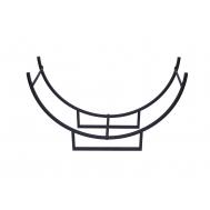 Металлическая подставка для дров H201B