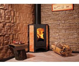 Печь-камин для дачи в классическом дизайне 2018